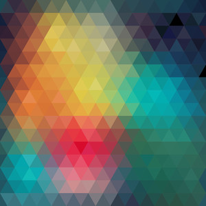 Retro Pattern Of Geometric Shapes. r. Geometric Hipster Retro Background