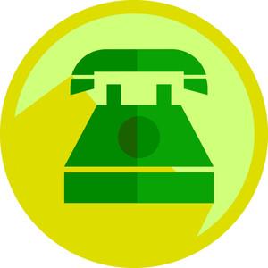 Retro Phone Shape