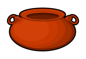 Retro Red Cauldron