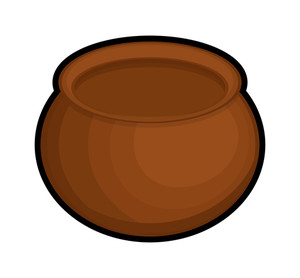 Retro Shape Cauldron