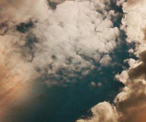 Retro Sky Background Illustration