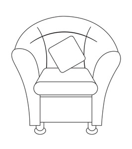 Retro Sofa Shape Design