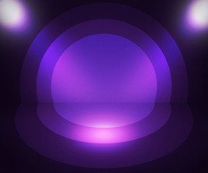 Retro Spotlight Violet Background