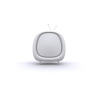 Retro Style Tv 3d Illustration
