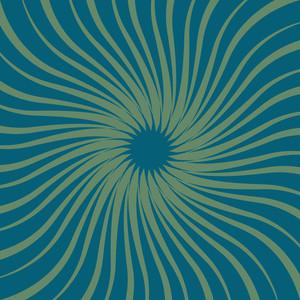 Retro Sunburst Graphic