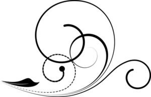 Retro Swirl Element