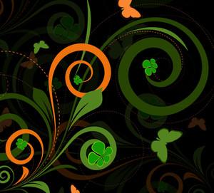 Retro Swirl Flourish