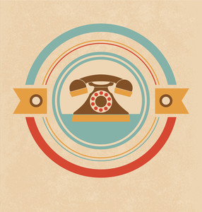 Retro Telephone Design