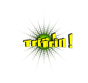 Retro Trin Ring Text Banner