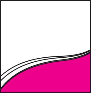 Retro Wavy Vector Banner