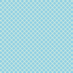 Retro Yellow And Blue Diagonal Checkerboard Pattern
