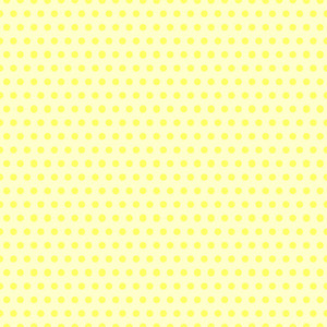 Retro Yellow Polka Dots Pattern