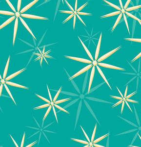Retrto Stars Pattern Background