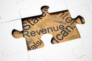 Revenue Puzzle Concept