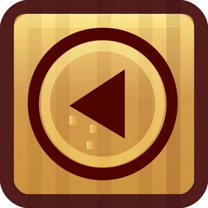 Reverse Play Brown Tiny App Icon