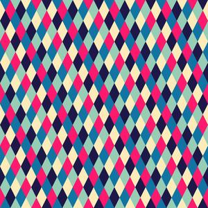 Rhombic Seamless Pattern