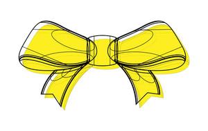 Ribbon Bow Drawing