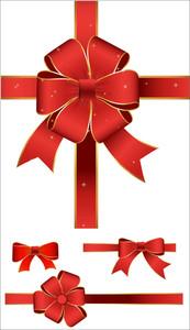 Ribbon Gift Bow Set