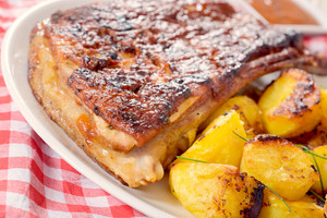 Ribs And Potatoes