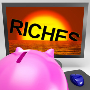 Riches Sinking On Monitor Shows Bankruptcy