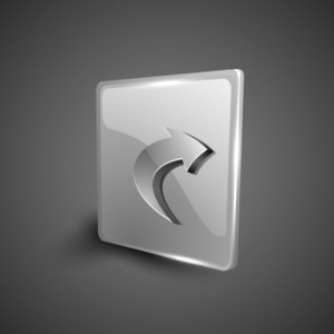 Right Arrow Symbol Icon Set.