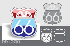 Road 66 Logo