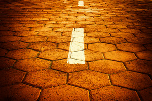 Road tiles background