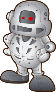 Robot - Cartoon Character