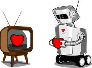 Robot With Heart.