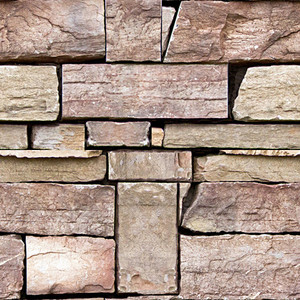 Rock Brick Seamless Texture