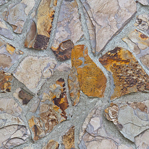 Rock Vintage Wall Seamless Texture