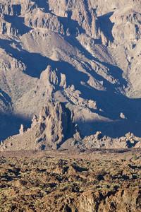Rocks on a barren landscape