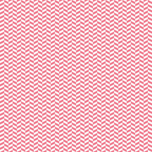 Romantic Pink And White Chevron Pattern
