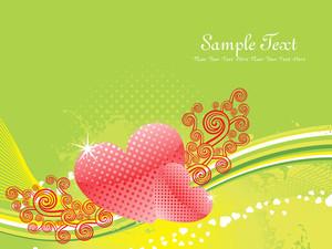 Romantic Concept Background