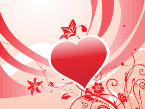 Romantic Day Wallpaper Illustration