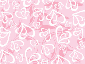 Romantic Floral Vector Background