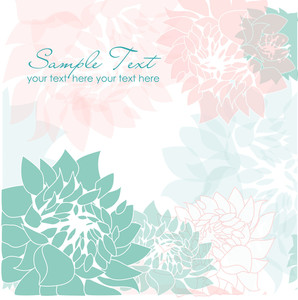 Romantic Flower Background-