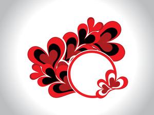 Romantic Frame For Valentine Day