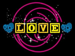 Romantic Love Illustration