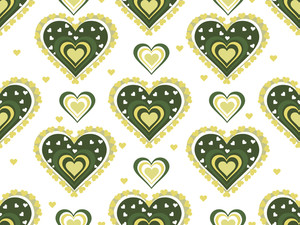 Romantic Pattern Illustration