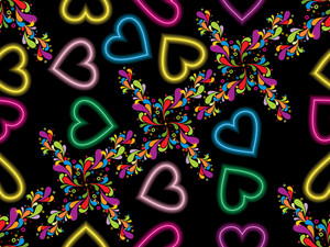 Romantic Pattern Wallpaper