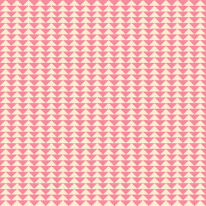 Romantic Pink Triangles Pattern