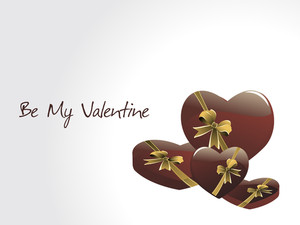 Romantic Valentine Day Illustration