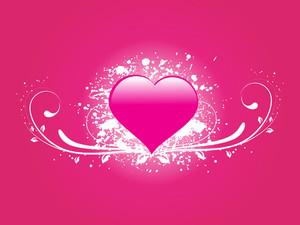 Romantic Vector Background
