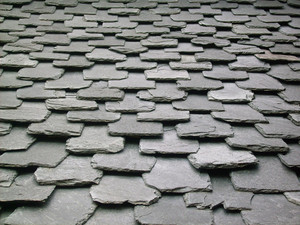 Roof Tiles Pattern Background