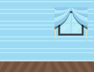 Room Wall - Cartoon Background Vector