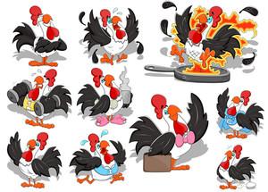 Rooster Vectors