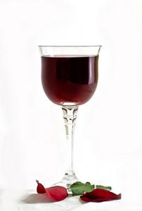 Rose Petals & Wine