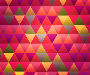 Rose Triangles Background
