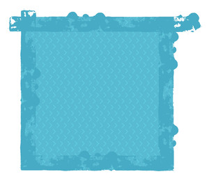 Rough Abstract Grunge Vector Frame
